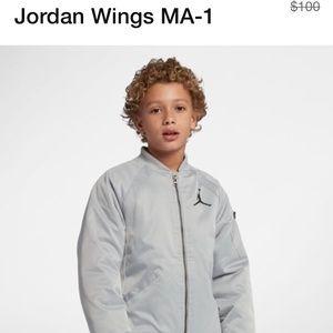 507396e5aa71 Nike Jackets   Coats - Nike Air Jordan Wings Bomber Jacket